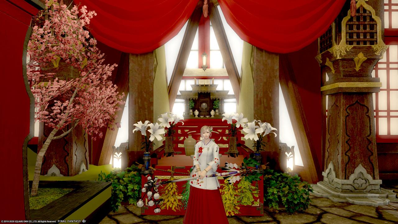 占いリリーコーラル白百合神社